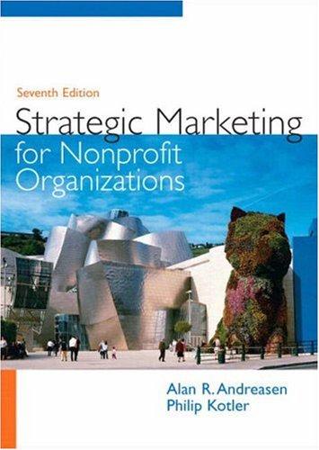 Strategic Marketing for Non-Profit Organizations (7th...