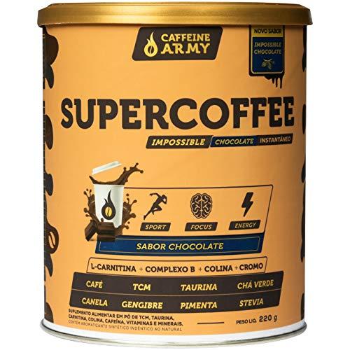 SuperCoffee Impossible Chocolate (220g), Caffeine Army, Multicor, tamanho único