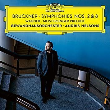Bruckner: Symphonies Nos. 2 & 8 / Wagner: Meistersinger Prelude