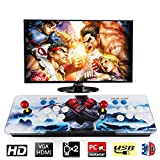 Barbella 2200 HD Arcade Game Console-3D Pandoras Box 6S Arcade Video Game 2190 Games Supports 3D Games 1920x1080 Full HD Support TF Card to Expand More Games for PC/TV/PS4