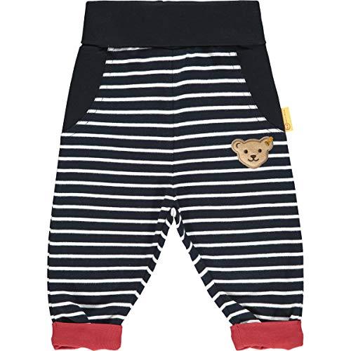 Steiff Baby-Jungen Jogginghose, Navy, 74