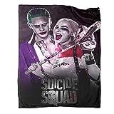 Harley Quinn and Joker Baby Blanket Harley Quinn and Joker Blanket 70' x 90' Super Soft for Adults and Children