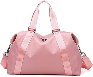 Gym Duffel Bag, lesgos Waterproof Portable Swim Training Bag, Compact Sling Crossbody Travel Carry On Travel Luggage Bag for Men Women Kids