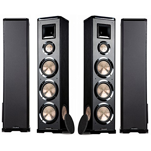 BIC Acoustech PL-980R 3-Way Floor Speakers