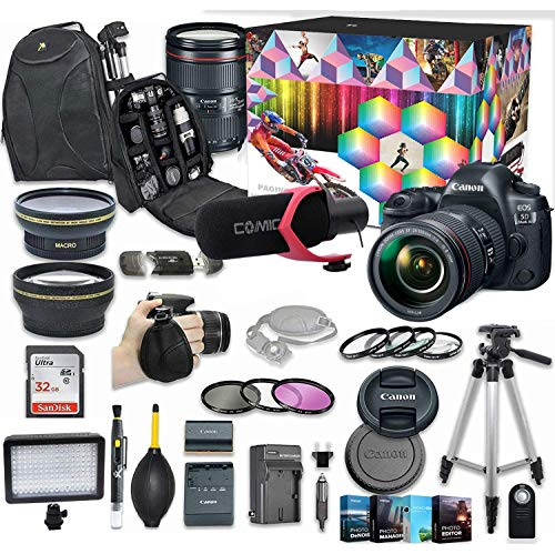Canon EOS 5D Mark IV DSLR Camera Video Kit with...