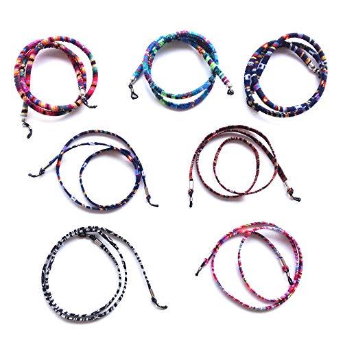 Sin marca Cordón De Gafas,Estampado Etnico, 7 Unidades