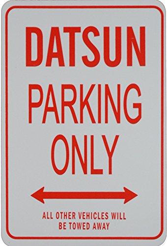 DATSUN PARKING ONLY - Miniature Fun Parking Sign