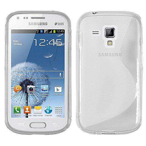 Samsung Galaxy Trend S7560 Étui HCN PHONE® S-Line TPU Gel Silicone Coque souple pour Samsung Galaxy Trend S7560 - TRANSPARENT