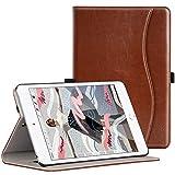 ZtotopCase Funda para 2019 Nuevo iPad Mini 5,Prima PU Cuero Smart Cover Case iPad Mini 5 7,9 Pulgada,Función de Auto-Sueño/Estela,Ranura de Archivos, Vista múltiple,Marrón