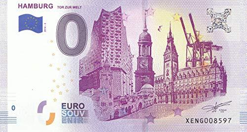 Generic 0 Euro Schein Hamburg Tor zur Welt 2018