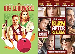 They Did It Again! Cult Classics Coen Brothers Cult Classics: The Big Lebowski & Burn After Reading 2 DVD- Movie Set