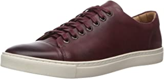 Men's Leather Luxury Lace Up Classic Fashion Sneaker