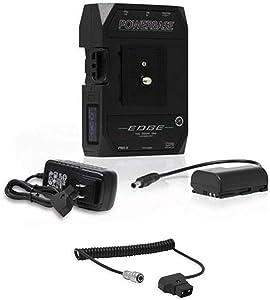 Core SWX PowerBase Edge 14.8V 49Wh Battery for Blackmagic Design Pocket 4K & 6K Cinema Camera Coiled D-Tap to 2-Pin Cable for Blackmagic Pocket 4K Camera, 18