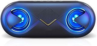 Hahaiyu Wireless Bluetooth Speaker, Portable Mini HiFi Sound Quality Portable Home Subwoofer, HD Audio 6 Hours Play Time/B... photo