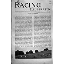 1895の競馬のスポーツのRussley公園のコツコツつつく音のCarvickの中心の旧式な印刷物