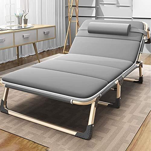 GAO-bo Ligstoelen, opvouwbare loungestoel, moderne fauteuil, binnendekstoel voor woonkamer, slaapkamer, balkon en kantoor