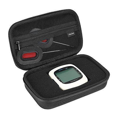 ProCase hard case voor NutriChef Smart Wireless BBQ Grill Thermometer, met netvak voor accessoires -zwart