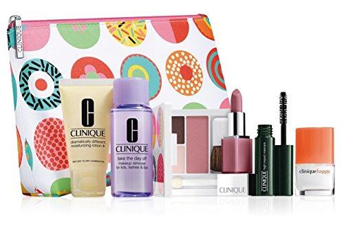 New! 2016 Clinique 7-PC Skincare Makeup Gift Set - Sassy Choice, $70 Value