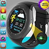 Smart Watch for Men Women - Activity Fitness Tracker with Heart Rate Blood Pressure Monitor Sport Watch Pedometer Calorie Smart Watch for Android iOS Father's Day Birthday Travel Gift