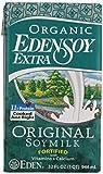 Eden Foods Extra Organic Original Fortified Soymilk, 32 oz