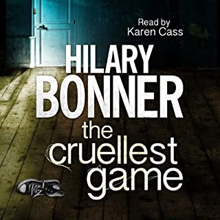 The Cruellest Game                   By:                                                                                                                                 Hilary Bonner                               Narrated by:                                                                                                                                 Karen Cass                      Length: 11 hrs and 46 mins     37 ratings     Overall 3.8