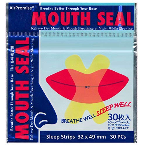 Sleep Strips, Mouth Tape for Sleeping, Anti Snore Solution for Better Nose Nasal Breathing, Mouth Strips Anti Snoring Devices, Close Mouth Snoring Reduction Relief Snorers (32x49mm, 3 Packes)