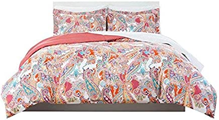featured product Nicole Miller Paisley Coral Bedding Ensemble