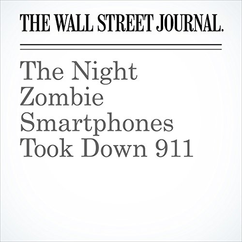 The Night Zombie Smartphones Took Down 911 copertina