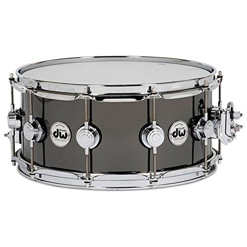 DW Collector's Series Black Nickel Over Brass Snare Drum 6.5x14' DRVB6514SVC