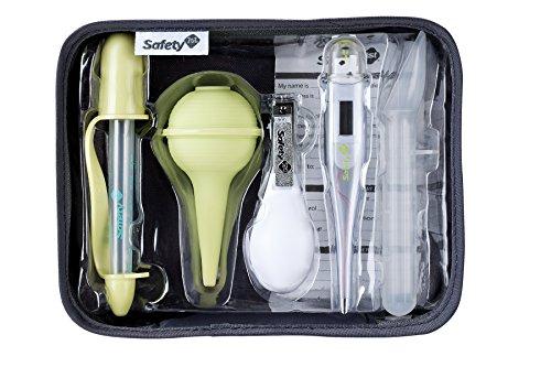 Safety 1st Kleines Gesundheitsset für unterwegs, 6 wichtige Gesundheits- und Hygieneartikel für Babys, inkl. praktischem Reisetäschchen