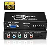 HDMI to Component Scaler Converter, avedio links HDMI to 1080p Component...