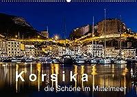 Korsika - Die Schoene im MIttelmeer (Wandkalender 2022 DIN A2 quer): Wie beschreibt man Korsika? Eine beeindruckende Landschaft mit malerischen Buchten, atemberaubenden Kuestenstrassen und franzoesischem Flair, gepaart mit einer italienischen Note. (Monatskalender, 14 Seiten )