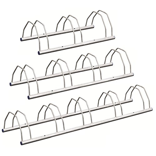 Hardcastle Fahrradständer für den Boden/zur Wandbefestigung - verschiedene Größen - Fahrradhalterung zur Aufbewahrung