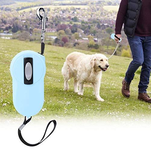 SALUTUYA Dogs Leashes Pet Extending für Welpen zu Fuß für den sicheren täglichen Gebrauch(Light Blue)