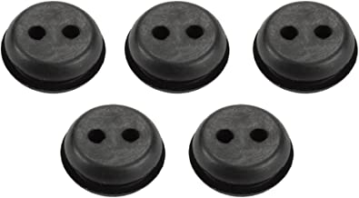 Harbot (Pack of 5 2-Hole Fuel Tank Rubber Grommet