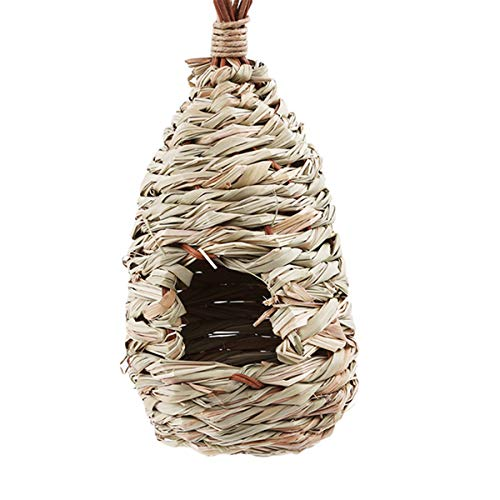 Winwinfly Natural Pet Vogel Bett Vogelnest Kanarienvogel Käfig Vogel Eier Container Zucht Nest Dekorative Käfige