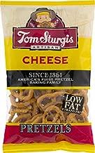 Tom Sturgis Artisan Low Fat Cheese Pretzels 7.5 oz. Bag (4 Bags)