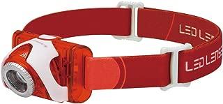 LED Lenser SEO5 Head Lamp, Red