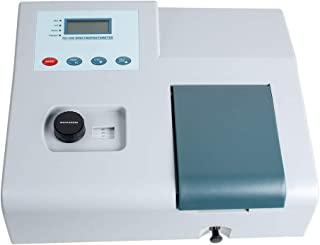 zorvo Visible Spectrophotometer Laboratory, Qualitative Analysis Equipment, 721 LDC Digital Lab Spectrophotometer 350-1020...