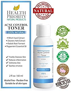 Natural Proactive Acne Scar Remover + Apple Cider Vinegar & Vitamin E for adults & teens. Best face cleanser & wash for all adult & teen acne prone skin.