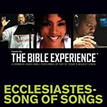 Inspired By … The Bible Experience Audio Bible - Today's New International Version, TNIV: (20) Ecclesiastes and Song of Songs: The Bible Experience