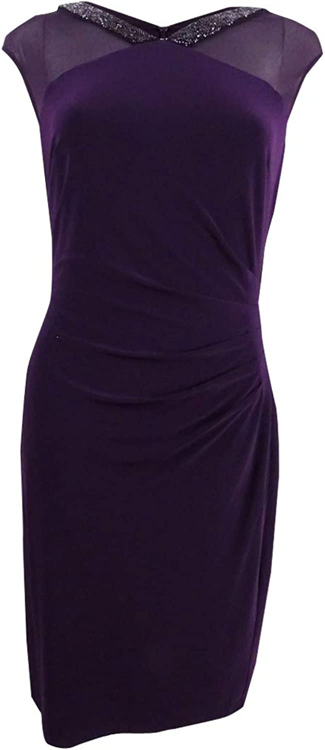 Lauren Ralph Lauren Womens Sleeveless Mini Party Dress