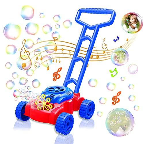 Sunshine smile Macchina per Bolle,Sparabolle di Sapone,Macchina per Fare Bolle Automatica,Bubble Machine...