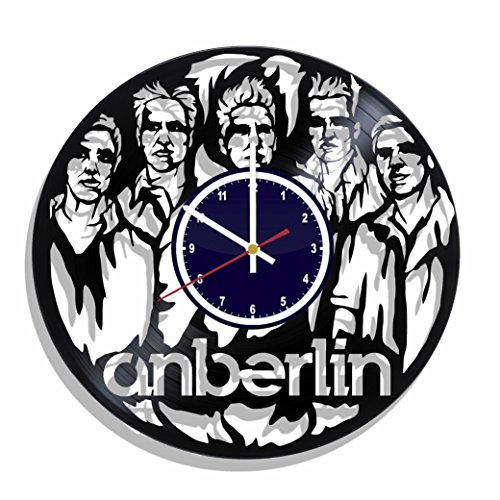 NON STOP XXX Anberlin Rock Band Wall Clock Made from Real Vinyl Record, Anberlin Wall Poster, Best Gift for Anberlin Fans, Anberlin Decal