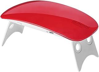 Ivyshion - Lámpara UV para secado de uñas (mini 6 W, lámpara UV LED, profesional, secado de uñas, gel portátil, para esmalte semipermanente y gel con 2 minutos 45/60s)