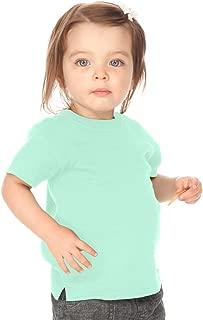 Kavio! Unisex Infants Scoop Neck Short Sleeve Top