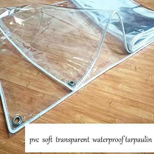 BGFC Transparente Lona Impermeable con Ojales al Aire Libre Gardín Planta Mueble Cubrir Anti-envejecimiento Durable-1mx1.8m