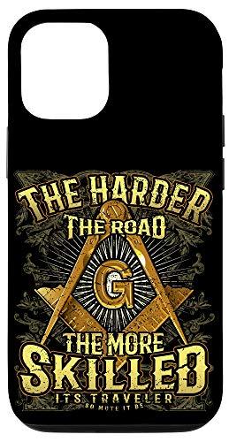 iPhone 12/12 Pro Masonic Mobile Case Harder Road Freemason Square & Compass Case