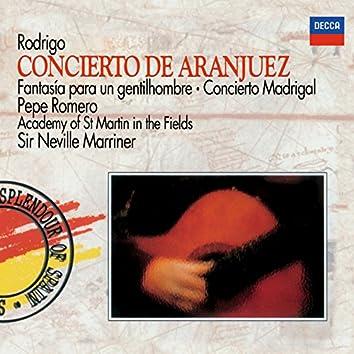 Rodrigo: Concierto de Aranjuez; Fantasía para un gentilhombre; Concierto Madrigal