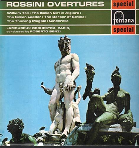 Rossini - Rossini Overtures - 12' LP 1969 - Fontana SFL 14056